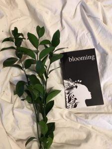 Blooming Poetry Book by Alexandra Vasiliu
