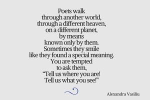 Poem by Alexandra Vasiliu
