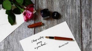Writing Poems by Alexandra Vasiliu, Author of BLOOMING
