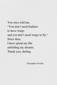 Be An Inspiration. Poem by Alexandra Vasiliu