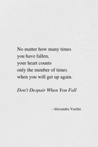 Inspirational Poem Alexandra Vasiliu