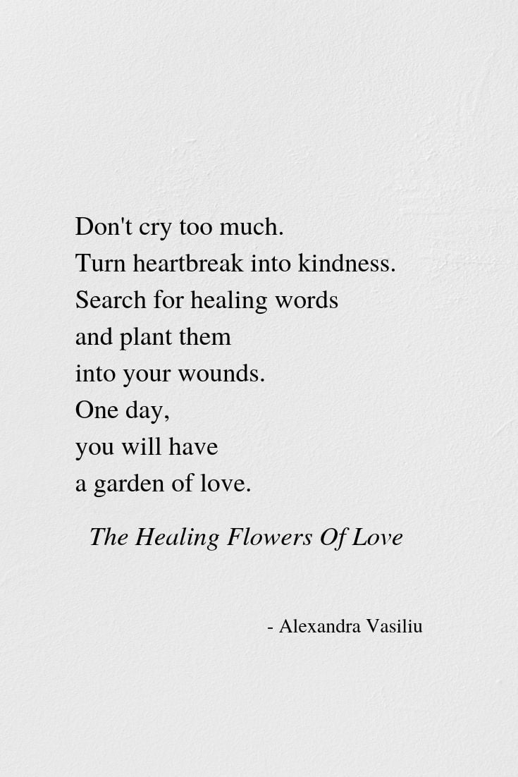 Search For Healing Words Alexandra Vasiliu
