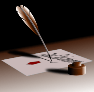 Writer's quill