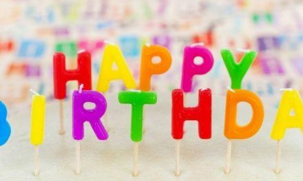 Celebrating My First Book's Birthday