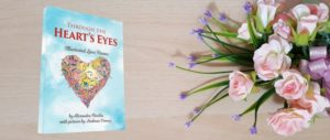 """""""Through the Heart's Eyes: Illustrated Love Poems"""" - book cover"""