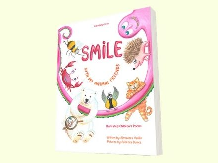 Smile with My Animal Friends: Illustrated Children's Poems