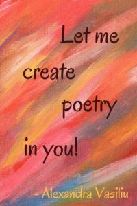 Poetry/Alexandra Vasiliu