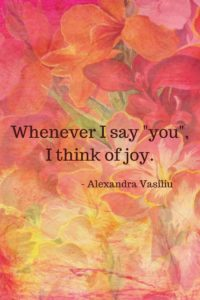 Poems by Alexandra Vasiliu