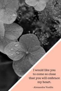 Waiting For You Poem by Alexandra Vasiliu