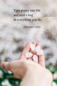 Poem on self-discovery, healing, love, life, and joy by Alexandra Vasiliu