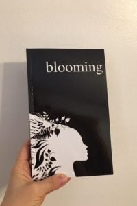 Blooming Love Poetry Book by Alexandra Vasiliu