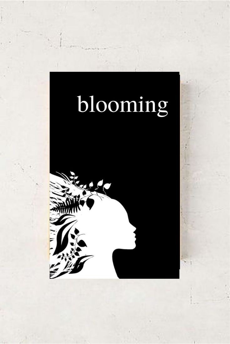 BLOOMING - The Bestselling Poetry Book For Women by Alexandra Vasiliu