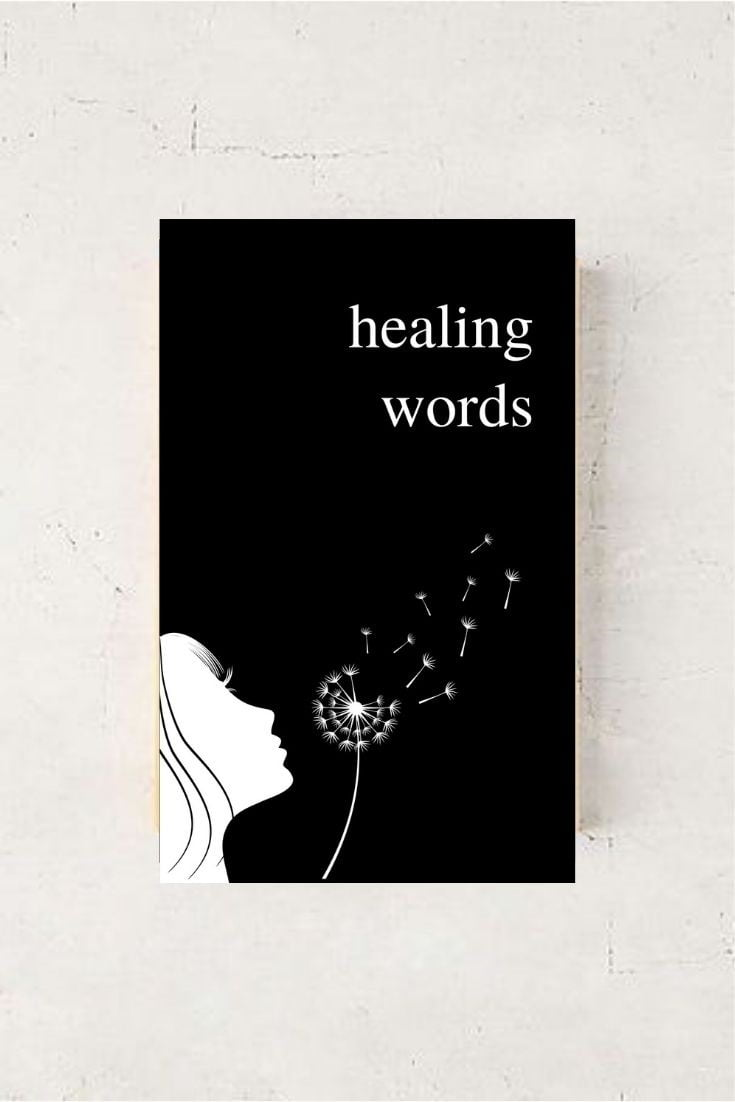 Healing Words: A Poetry Collection For Broken Hearts by Alexandra Vasiliu