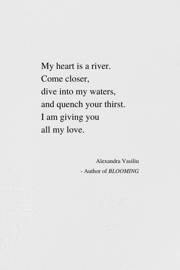 You poem with in my heart Who Put
