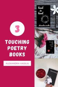 Touching Poetry Books by Alexandra Vasiliu