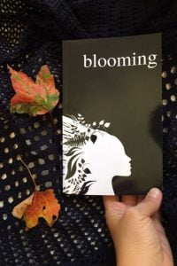 Blooming A Touching Poetry Book by Alexandra Vasiliu