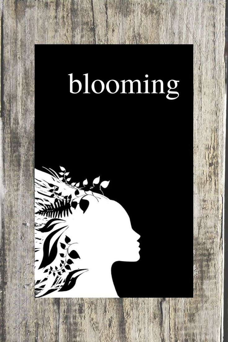 Blooming - Poetry Book by Alexandra Vasiliu