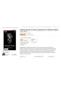Healing Words by Alexandra Vasiliu - Number 1 on Amazon