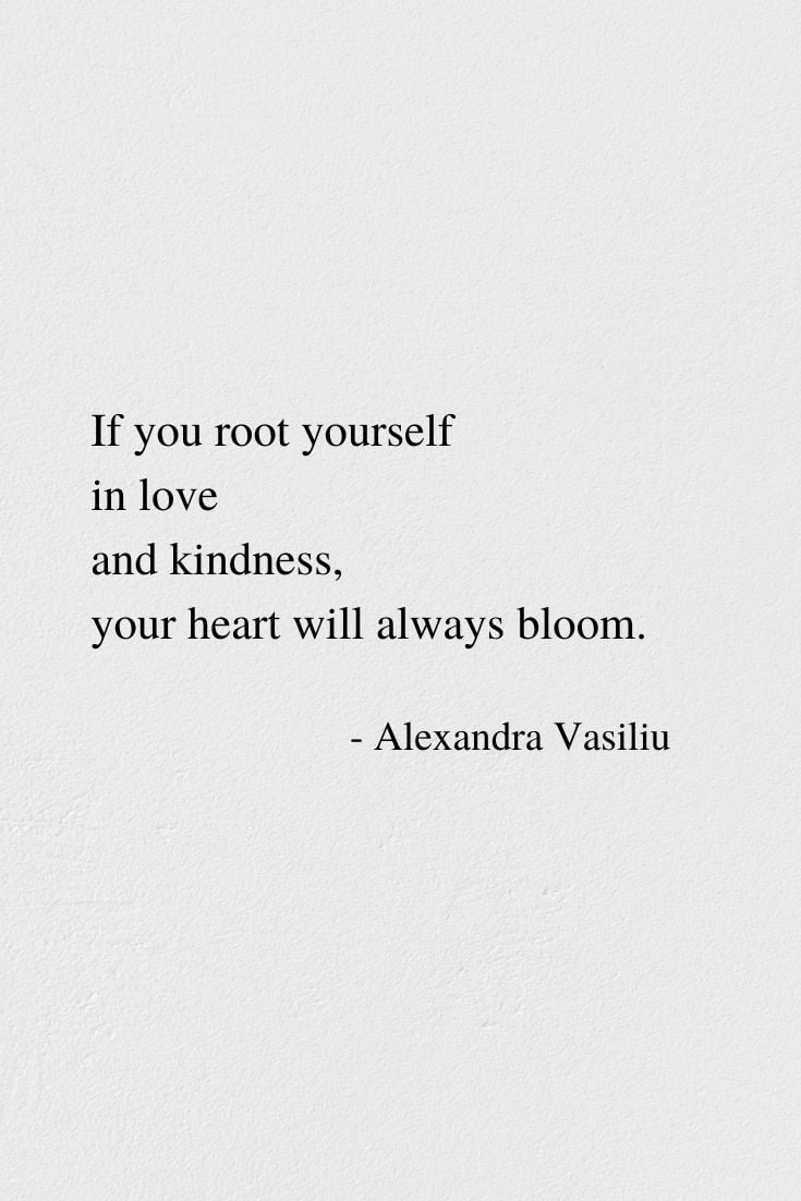Always Bloom - A Short Poem by Alexandra Vasiliu, Author of BLOOMING and HEALING WORDS
