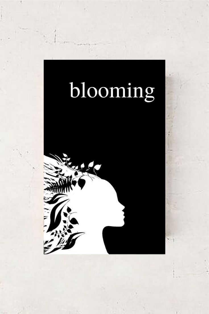 BLOOMING - An Empowering Poetry Book by Alexandra Vasiliu