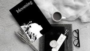 Blooming - An Empowering Poetry Book by Alexandra Vasiliu