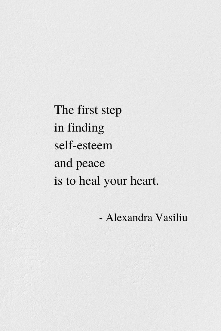Heal Your Heart - An Empowering Poem by Alexandra Vasiliu, Author of BLOOMING and HEALING WORDS
