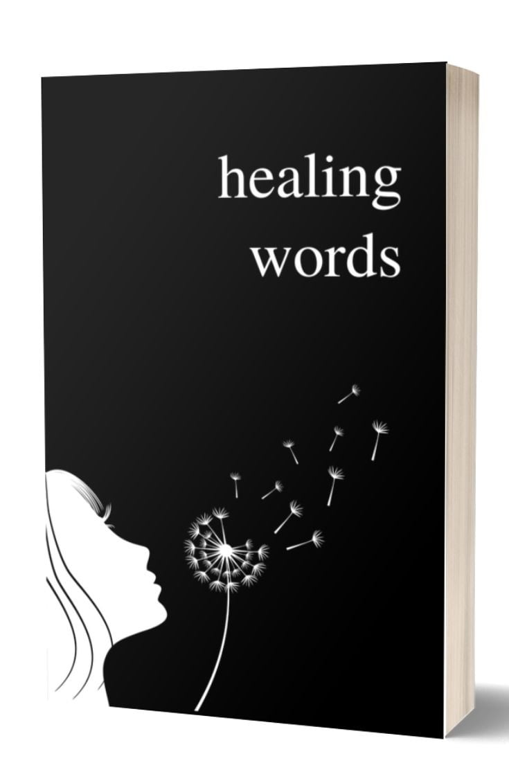 Healing Words - An Empowering Poetry Book by Alexandra Vasiliu