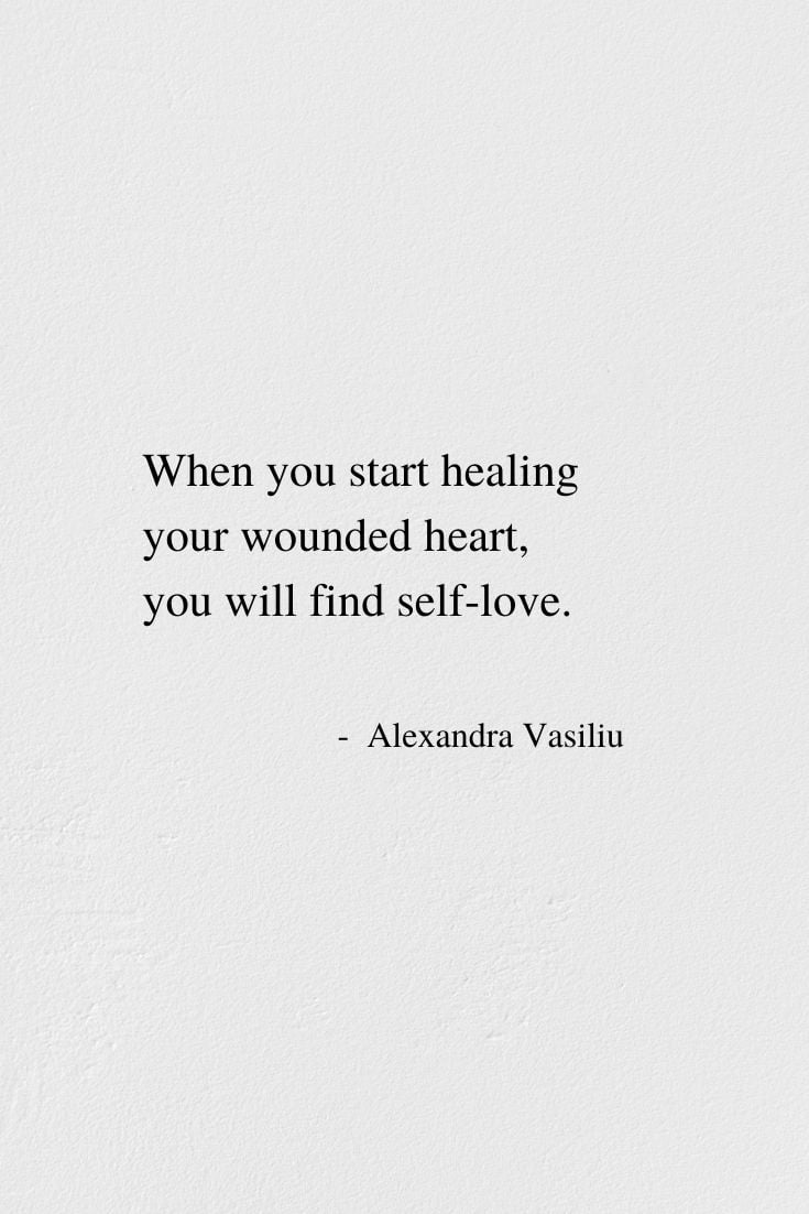When You Find Self-Love - Inspirational Poem by Alexandra Vasiliu, Author of BLOOMING and HEALING WORDS