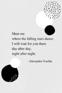 Our Magic Place - Inspirational Poem by Alexandra Vasiliu, Author of BE MY MOON, HEALING WORDS, and BLOOMING