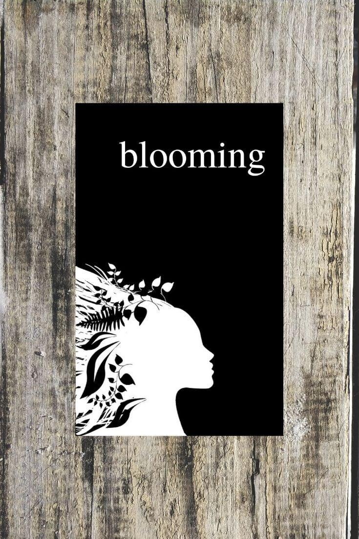 BLOOMING An Empowering Poetry Book by Alexandra Vasiliu