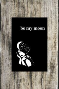 Be My Moon A Romantic Poetry Book by Alexandra Vasiliu