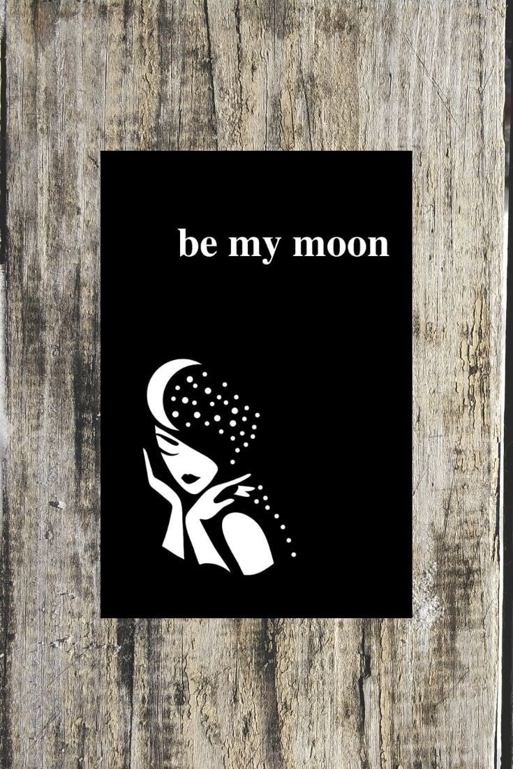 Be My Moon A Romantic Poetry Book by Alexandra Vasiliu