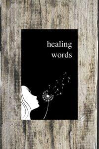 HEALING WORDS An Uplifting Poetry Book for Broken Hearts by Alexandra Vasiliu