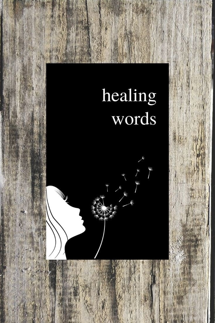 HEALING WORDS An Uplifting Poetry Book for Broken Hearts by Alexandra Vasiliu