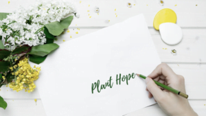 Plant Hope - A Journal for Healing by Alexandra Vasiliu